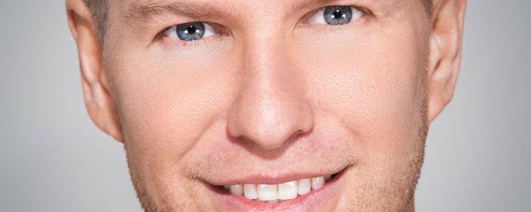 Hautpflege für Männer im Kosmetikstudio