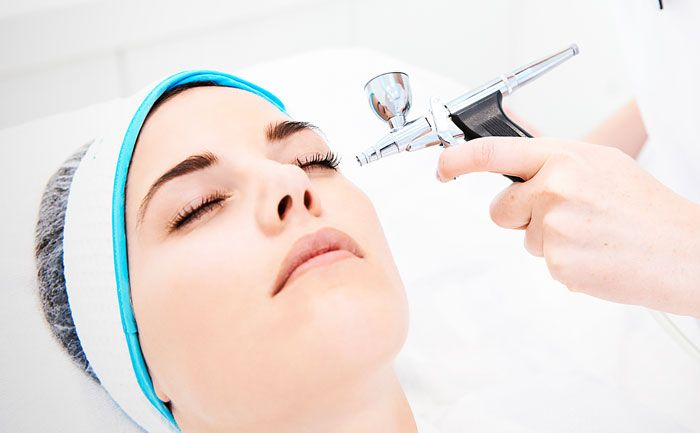 Sauerstoffbehandlung der Haut ! QMS Medicosmetics